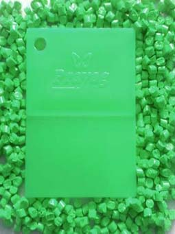 fluorescent-green-masterbatch