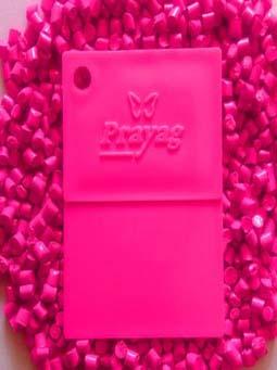 fluorescent-masterbatch-pink